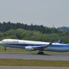 ANAの767、左エンジン停止で成田へ緊急着陸 25日の台北便