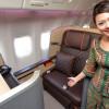 シンガポール航空、777新仕様機公開 ファーストはBMW子会社デザイン