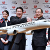 JAL、MRJを32機正式発注 2021年に初号機納入