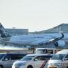 エアバスA350、羽田に初飛来 JALが56機導入