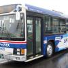 スカイマークと茨城交通、ラッピングバスで利用PR ナンバーは737
