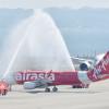 エアアジア・ジャパン、A320初号機が中部到着 3年で黒字化目標