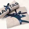 カンタス航空、ビジネスのパジャマ刷新 新ロゴデザイン