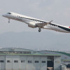 MRJ、飛行試験3号機が初飛行成功