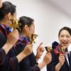 自分たちも楽しめるステージを 特集・JALのCAハンドベルチーム「ベルスター2016」