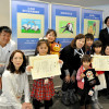 JAL、鶴の絵コンテストで7作品表彰 大西会長「小さい世代育む」