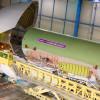 エアバス、ベルーガXLの製造進む 機首や尾翼結合へ
