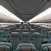 ダークグリーンで統一 写真特集・キャセイパシフィック航空A350-900(プレエコ・エコノミー編)