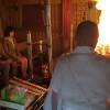 ソラシド、手作りしおりで受験生応援 大分・文殊仙寺で祈とう