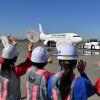 JAL、ひなまつりフライト9回目は羽田-宮崎 女性が全運航業務担う