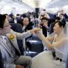 ANAとセントレア、上空3万9000フィートで結婚式 737で富士山遊覧