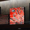 ニシキゴイやカープの赤あしらう 写真特集・JAL広島空港サクララウンジ刷新