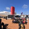 デルタ航空、747-400初号機公開 アトランタの航空博物館