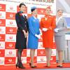 JAL、モスクワ開設50周年 記念イベントでCA歴代制服