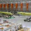 三菱航空機、MRJの最終組立工場公開 MRJ70初号機も