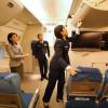次期政府専用機、ANAで自衛官初訓練 777モックアップで