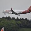 737 MAX、成田に初飛来 納入1号機が寄港