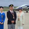 ブライトリングのDC-3、福島に飛来 元ANAパイロットとCA招待「柔らかい乗り心地」