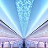 エアバス、A320にも内装新ブランド 「エアスペース」、バッグ8つ収納