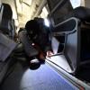ラベンダーからシックなグレーに 写真特集・HACのサーブ340B新シート換装作業(後編)