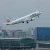 ジェイエアのE190、羽田初就航 初便は南紀白浜行き