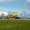 エアバス、米国製A320が初飛行 スピリット航空向け