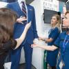 ユナイテッド航空、新制服20年に導入へ 3社デザイン、CA用キャリーケースはTUMI