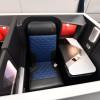 デルタ航空、成田でA350公開 ドア付き個室ビジネス、10月就航へ