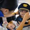 ANA、赤ちゃんが泣かない機内づくり挑戦 心拍数で赤ちゃんの大泣き予知