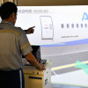 777-300で搭乗橋の操作訓練 写真特集・ANAグラハン用シミュレーター(PBB編)