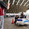 伊丹空港、空の日イベント盛況 CRJさよなら展示も