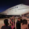 デルタ航空の747、12月退役 最終便はソウル発デトロイト行き