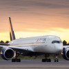 個室ビジネス初便は成田-デトロイト線 写真特集・デルタ航空A350就航