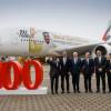 エミレーツ航空、100機目のA380受領 受注の半数近く独占