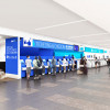 ANA、福岡空港カウンター刷新へ 19年春完成