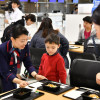 JAL、成田空港で年越しそば 十勝・新得町産、2割増量