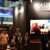 MRJ、隣はエンブラエルブース シンガポール航空ショー開幕