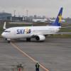 スカイマーク、17年度旅客数7.3%増 搭乗率84.4% 3月は前年超えストップ
