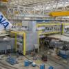 エアバス、ANAのA380尾翼取付 最終組立進む