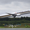 シンガポール航空の787-10、成田へ初飛来 19日に初便