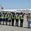JAL、成田就航40周年 藤田副社長「JALブランド強化」