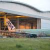 ANAのA380、最終組立工場からロールアウト 19年春に成田-ホノルル就航