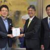 ソラシド、熊本城復興支援で400万円寄付 模型の機内販売全額