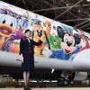 JAL、ディズニーリゾート開園35周年特別塗装機 ミッキーやドナルド描き国内線に