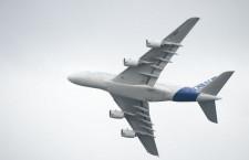 エアバス、航空機価格を3.6%値上げ A380は363.5億円