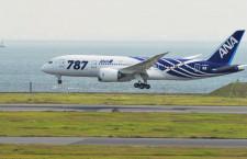 ANA、787就航10周年企画スタート 羽田-岡山・広島で記念便