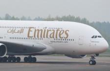 エミレーツ航空、新型コロナ感染者の医療費負担 最大15万ユーロ、隔離費用も