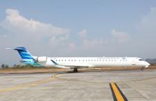 ガルーダ、CRJ1000の運航開始