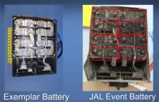 米運輸安全委、787のAPU用バッテリー内部の写真公開 委員長「あらゆる要因を排除していない」