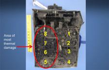 バッテリー内のショートが要因、ケース内は260℃以上 米運輸安全委、787調査で